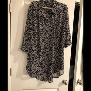 Torrid leopard print top